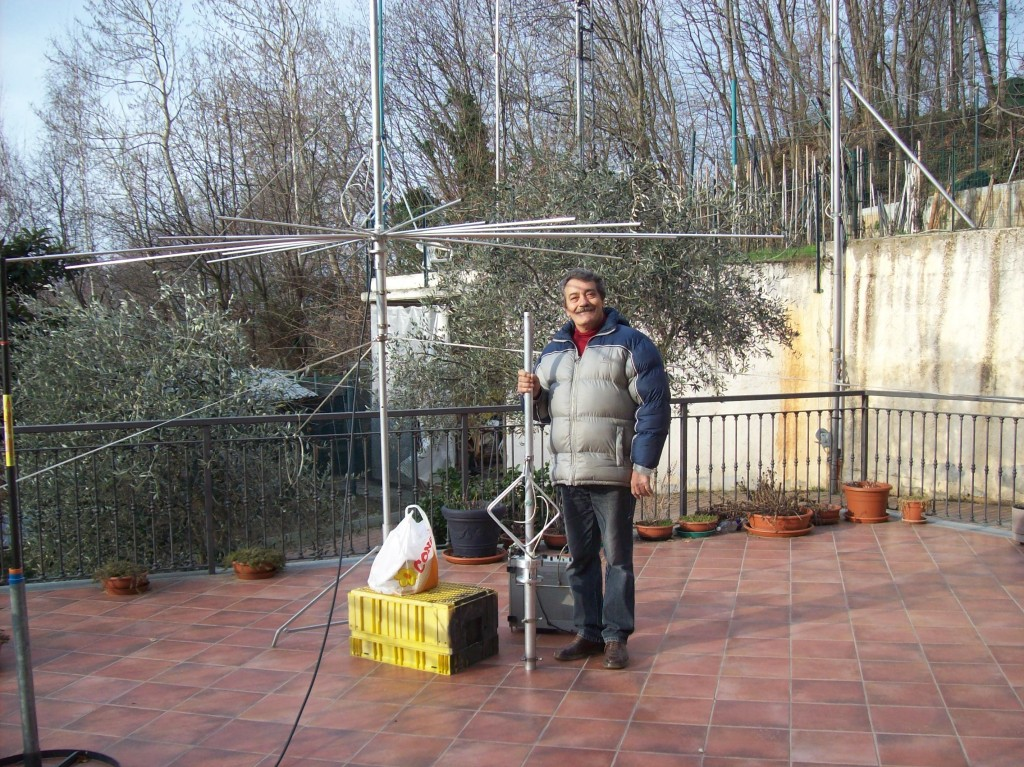 1RP.056 Francesco Con la 1RPDX  nuova Antenna