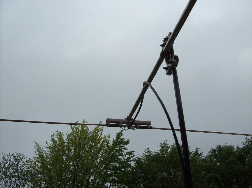 Antenna Moxon 2 Elementi autocostruita