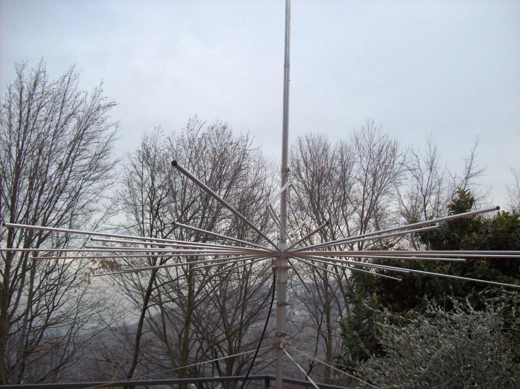 Antenna 5/8 lambda Autocostruita (1RPDX)