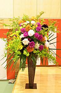 ギフト・花・開店・個展・イベント開催祝 季節のお花を使って明るく華やかなアレンジ