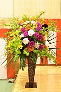 フラワーギフト・スタンド花・開店・移転・お祝い・発表会・祝賀会・オープン