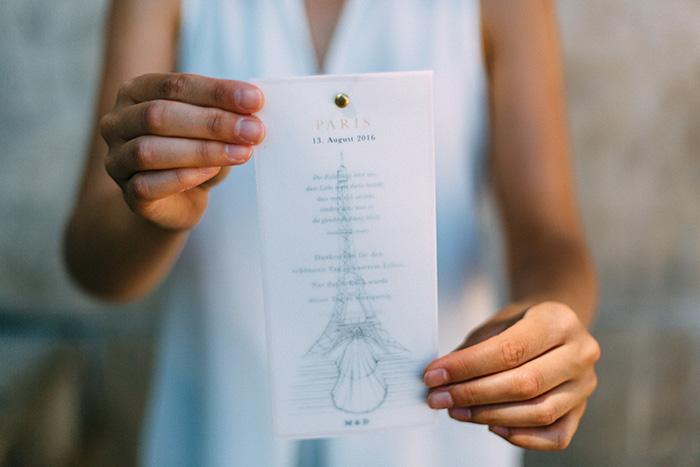 Hochzeitskarte, Braut, kreativ, Dankeskarte
