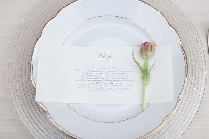 Menükarten, Hochzeit, Hochzeitspapeterie, Efi