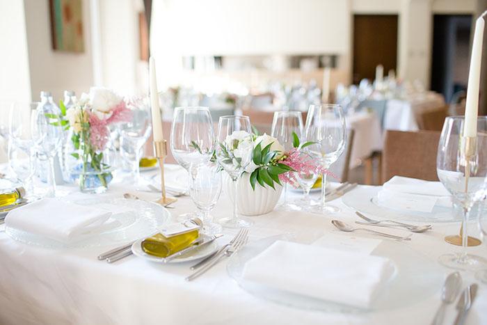 Hochzeitsplanung und Gestaltung von Efi im Seehotel Lochau.