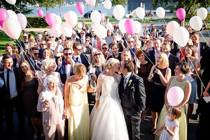 Hochzeitsfeier im Seehotel in Lochau am Bodensee mit Hochzeitsplanerin Christina Geiger