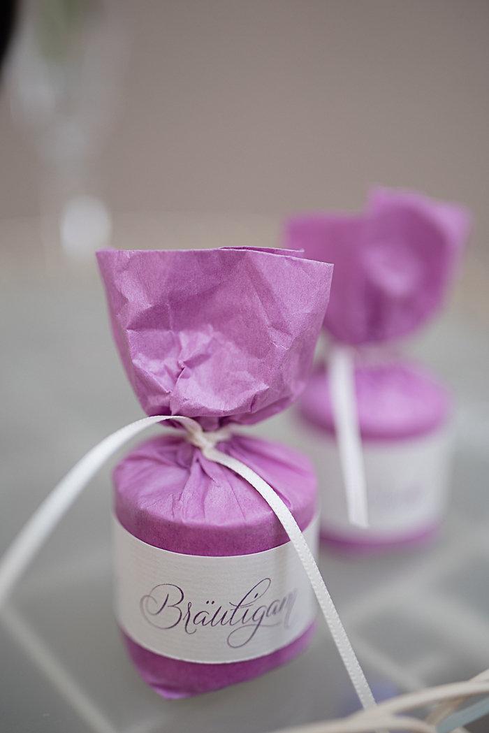 Gastgeschenke, Hochzeit, Efi