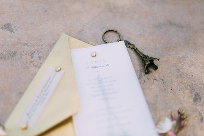 Hochzeit, Loveletter, Paris, Dankeskarte, Carito Photography