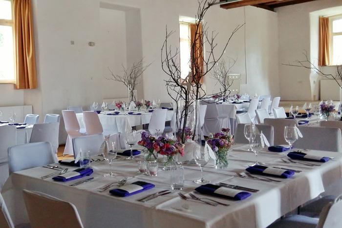 Hochzeitsdekoration, Raumdeko, Hochzeit, Pfauenfeder