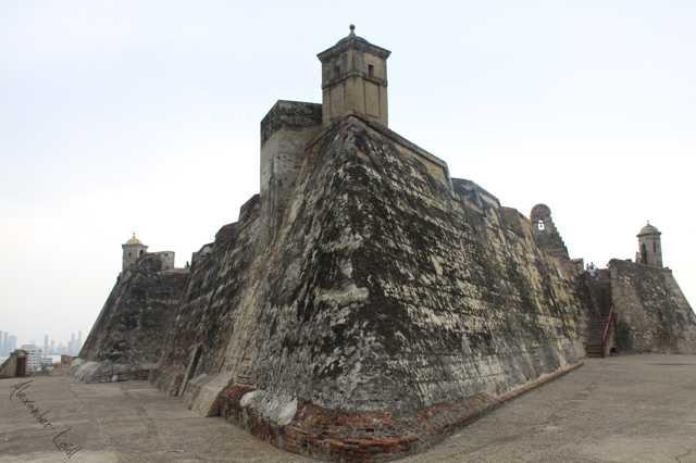 Castillo de Sann Felipe de Barajas in Cartagena