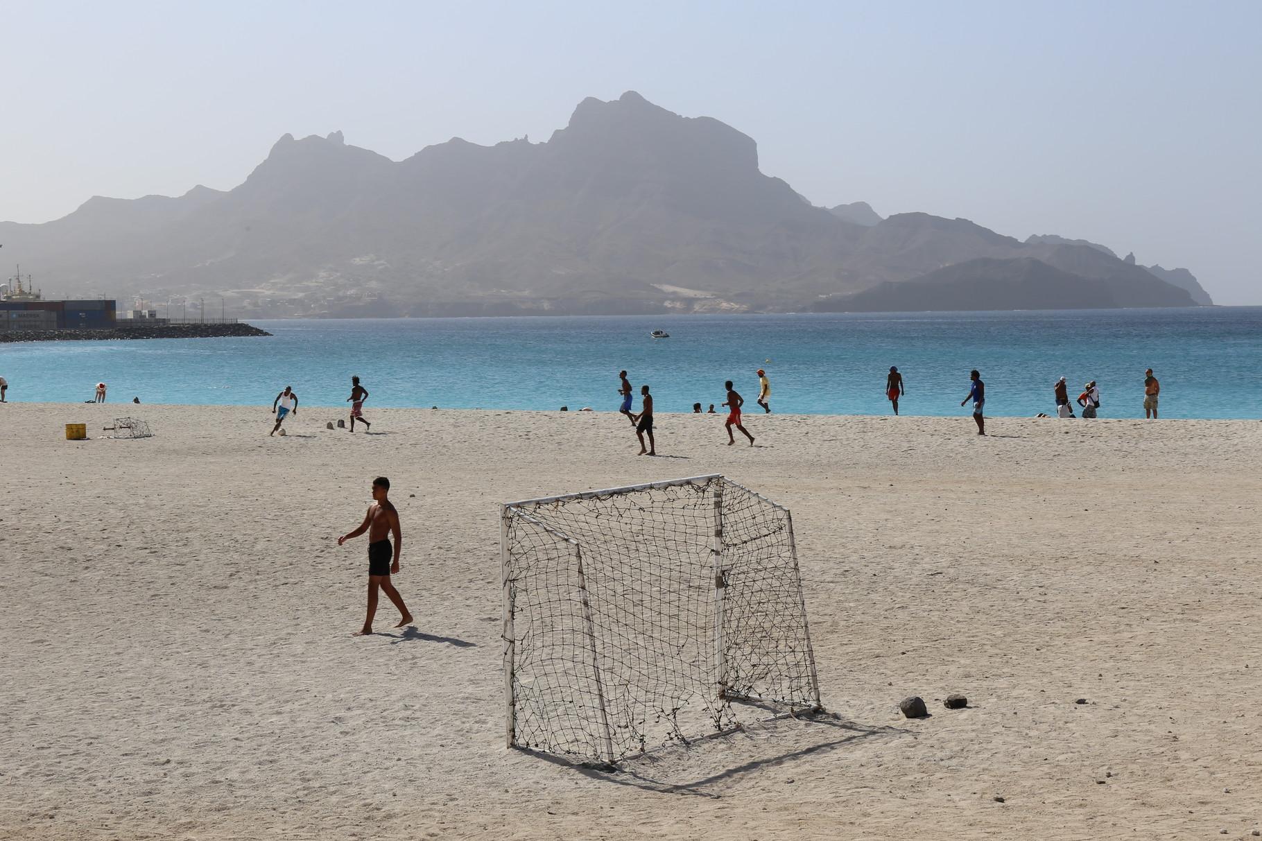 Beim Fußball, São Vicente | Kap Verden