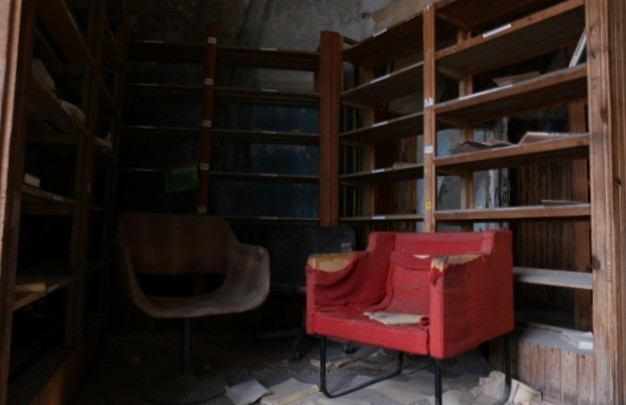 Former prison Patarei, Tallinn / Library