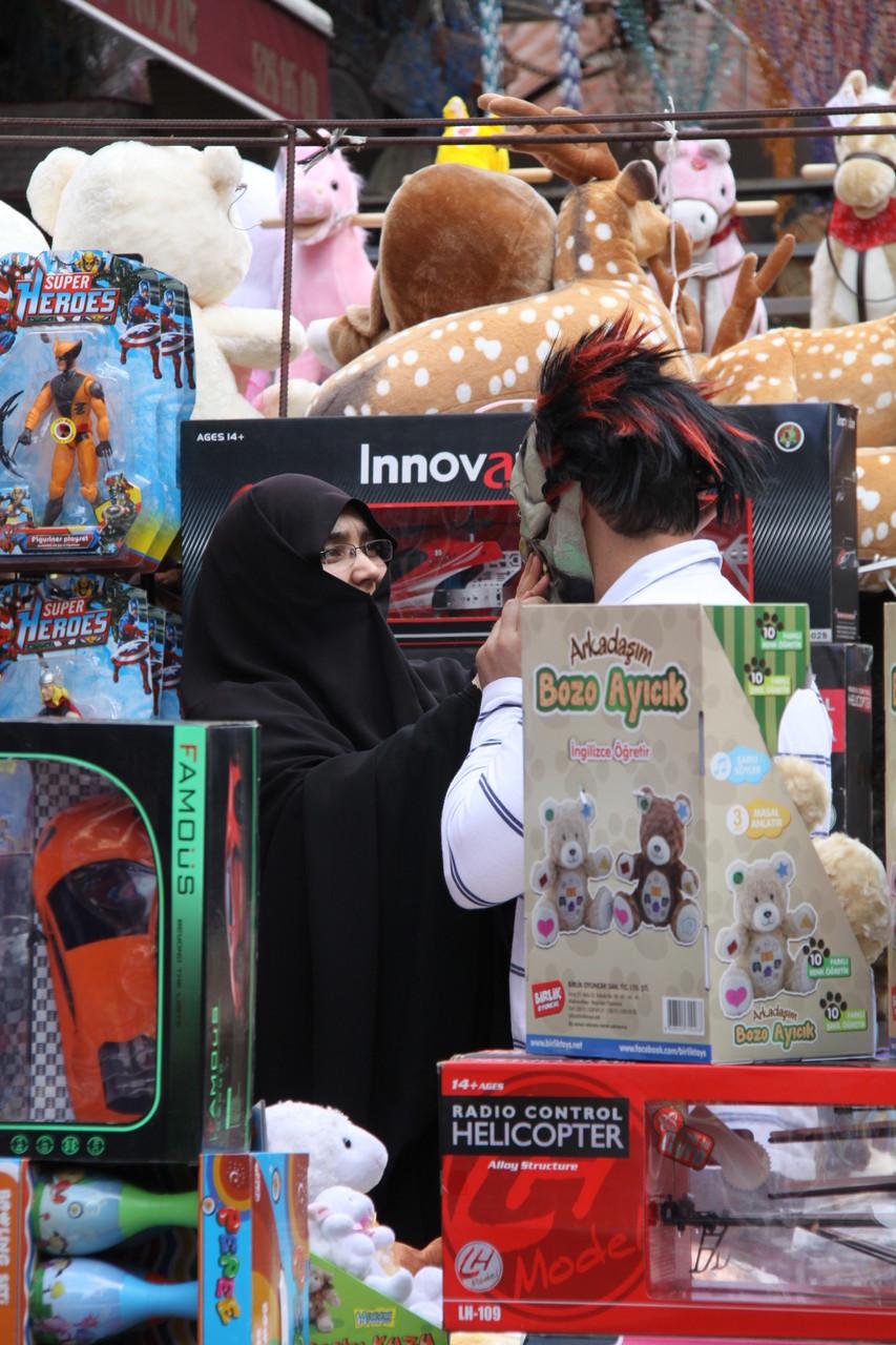 Beim Shoppen, Istanbul | Türkei