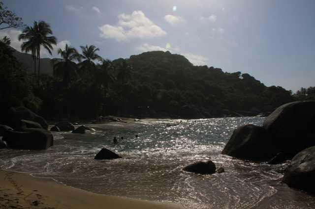 Parque Nacional Tairona - Carribean See