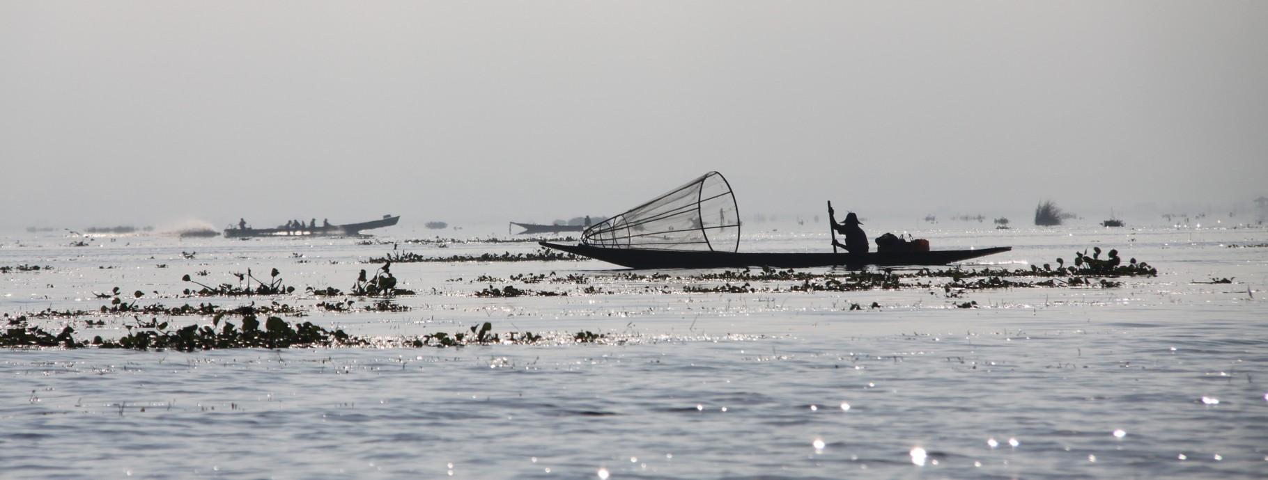 Beim Fischen, Inle See | Myanmar