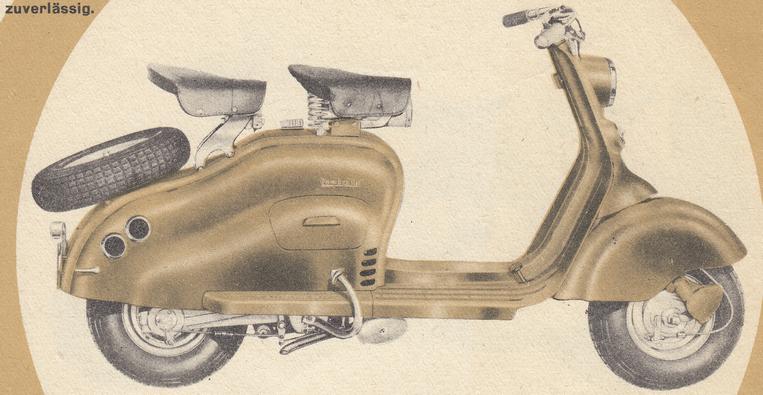 Lambretta 125 LD / 1952-53