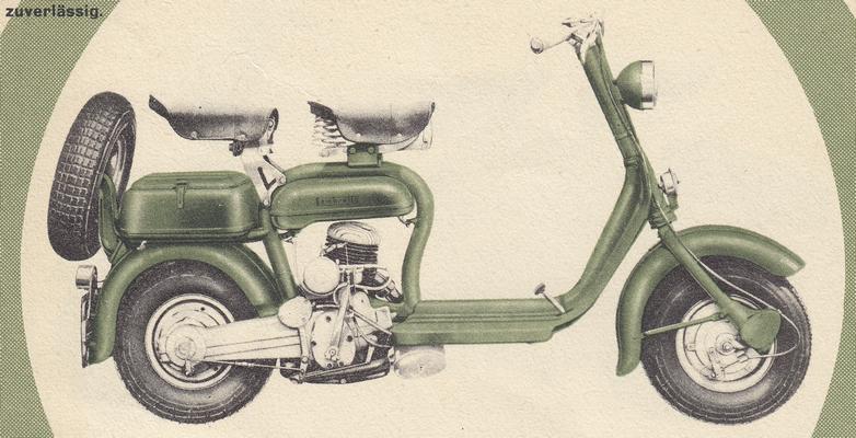 Lambretta 125 D / 1952-55