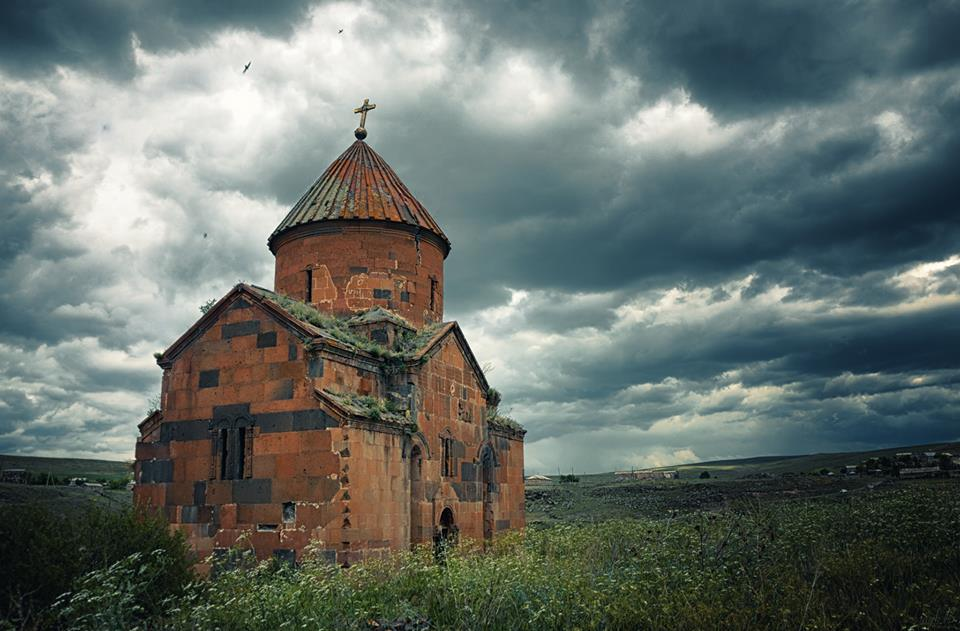 Haykadzor- Kirche Grikor (an der Grenze zur Türkei)