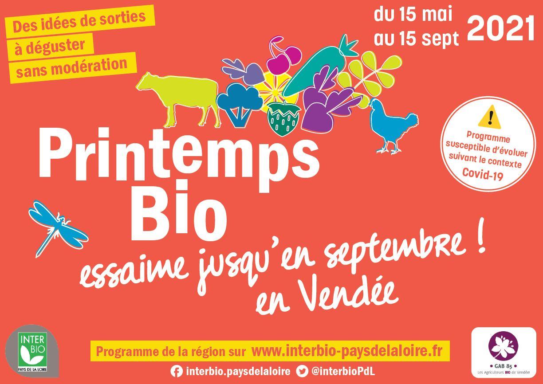 Le Printemps Bio en Vendée