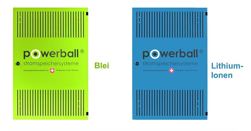 Powerball Speichersysteme - Neu: Jetzt auch als Lithium-Variante erhätlich!