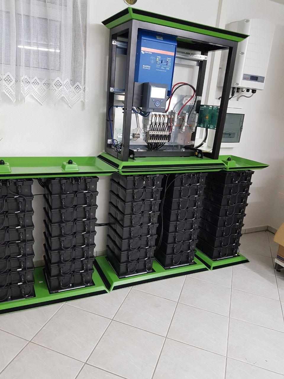 Greenrock Salzwasserbatterie ohne Gehäuse
