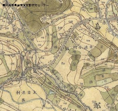 明治時代に作られた迅速測図