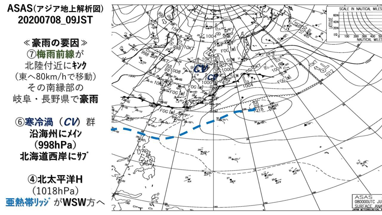 ASAS(アジア地上解析図)