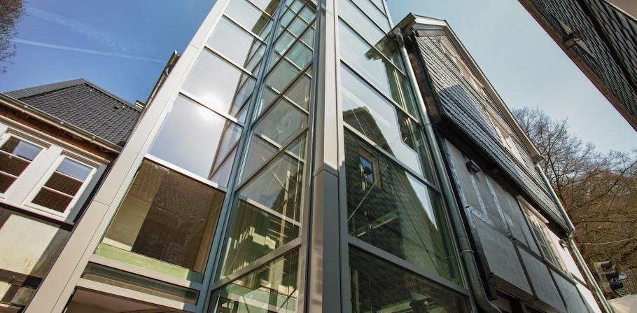 Der Aufzug- Lebensader für das barrierefreie Wohnen
