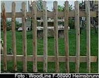 Lattenzäune, Staketenzäune und Sichtschutz von Woodline