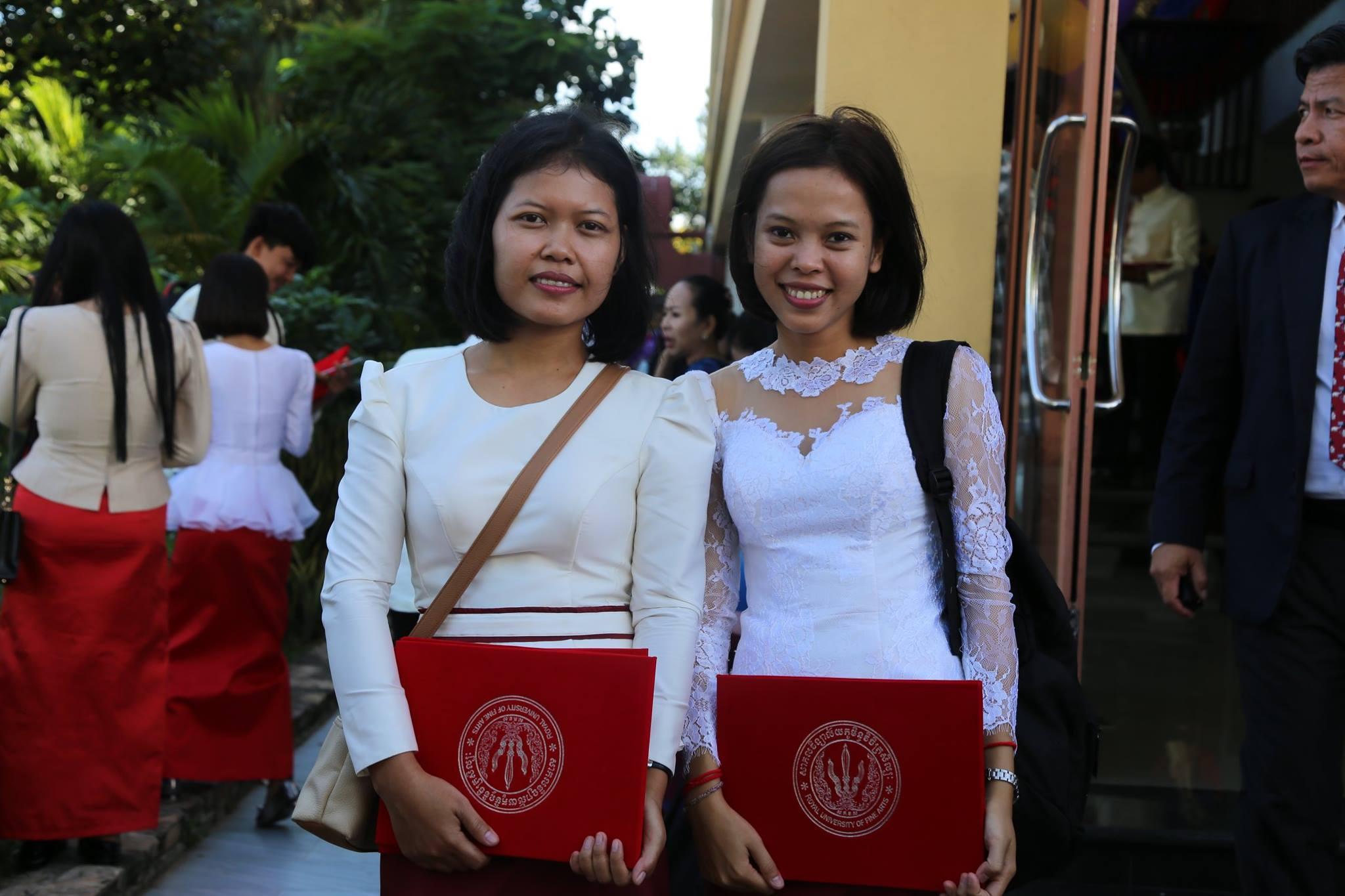 Diplômées de la Licence de l'Université des Moussons 2018