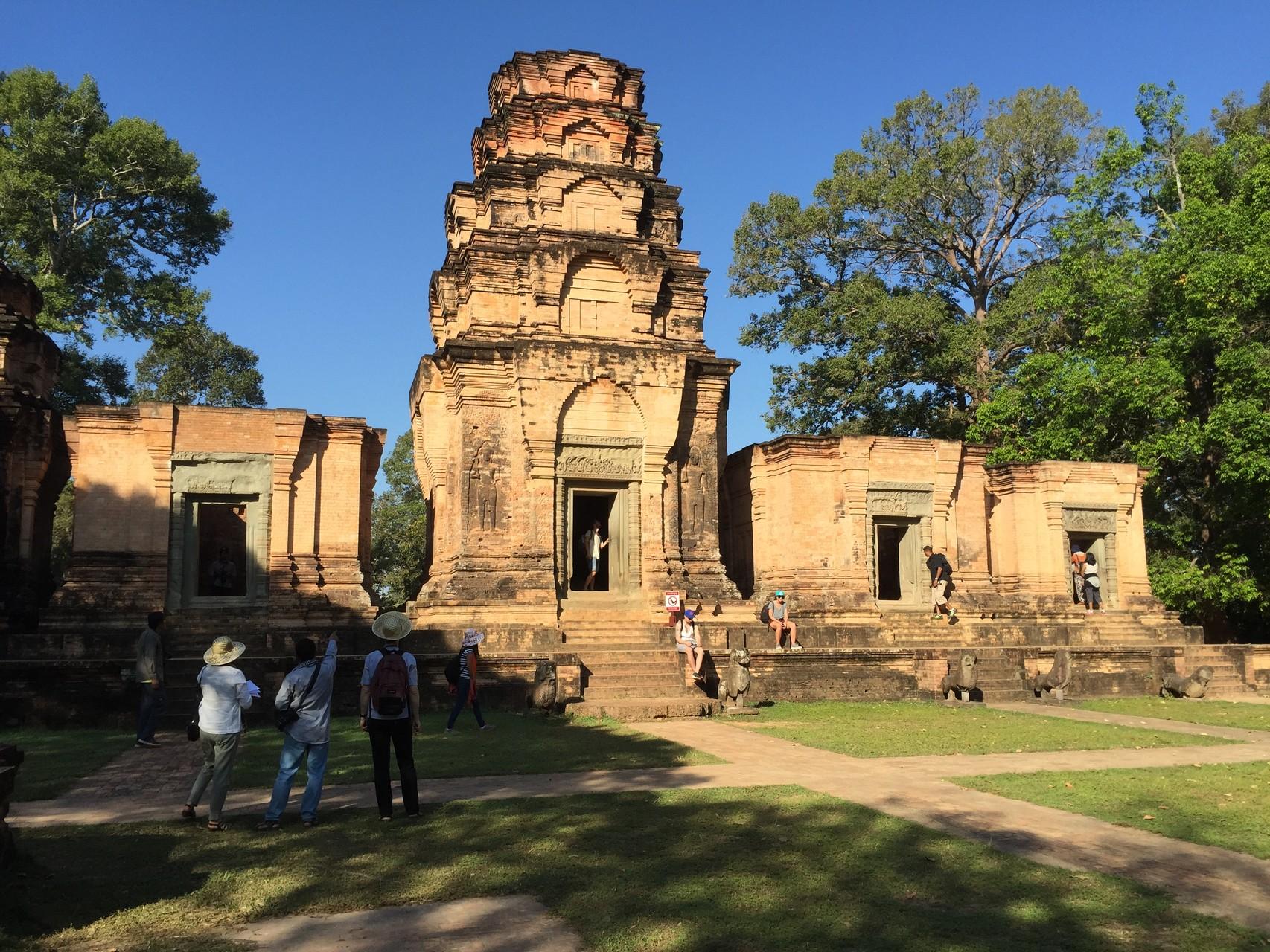 Le temple Kravan, Siem Reap. Photo prise par Joseph Thach.