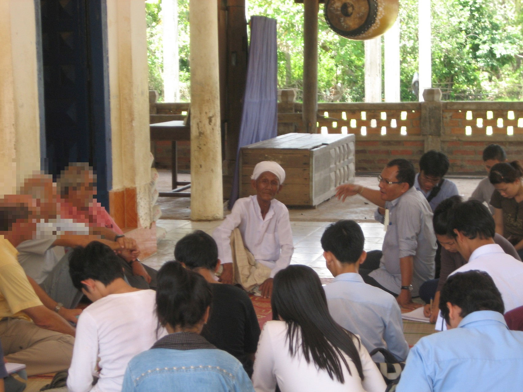 Ethnologie : Pratique de terrain, à Kampong Chhnang, 2012
