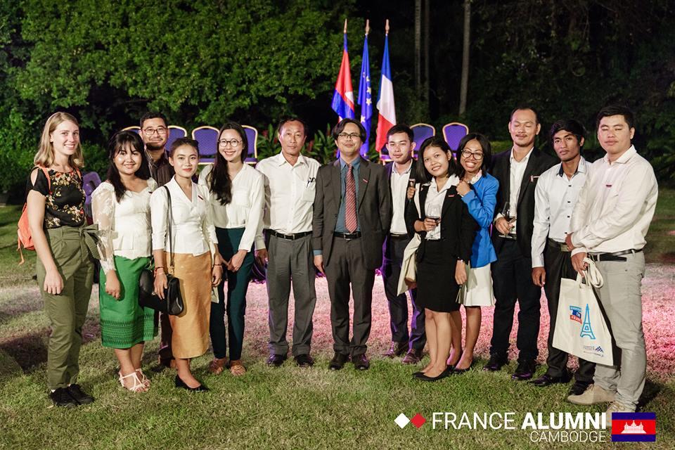 Cérémonie de fin de formation à l'Ambassade de France au Cambodge - 18 décembre 2018