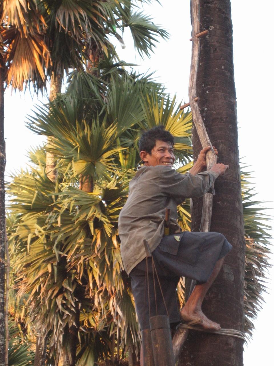 Dans la province de Kampot. Photo prise par Joseph Thach.