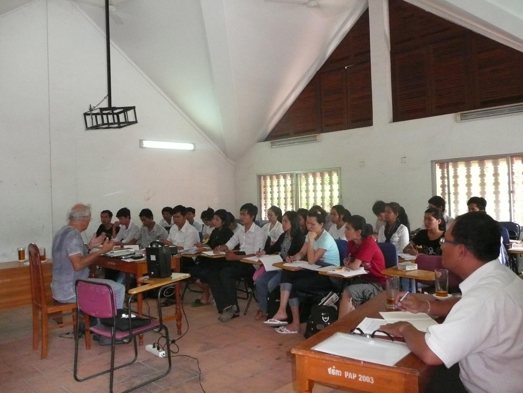 Cours d'ethnologie, 2012