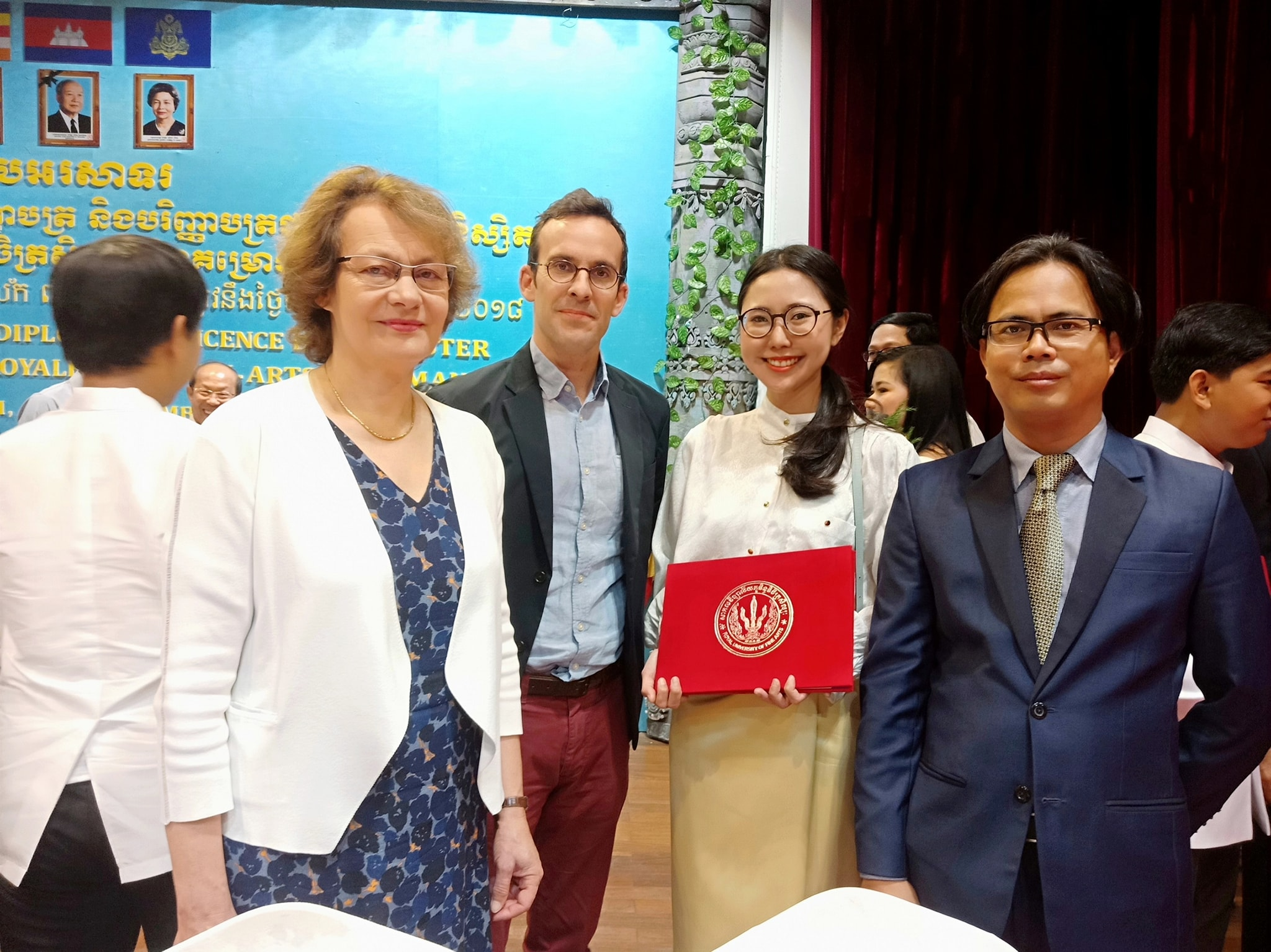 Cérémonie de remise des diplômes, en présence de la Présidente de l'INALCO - 17 décembre 2018