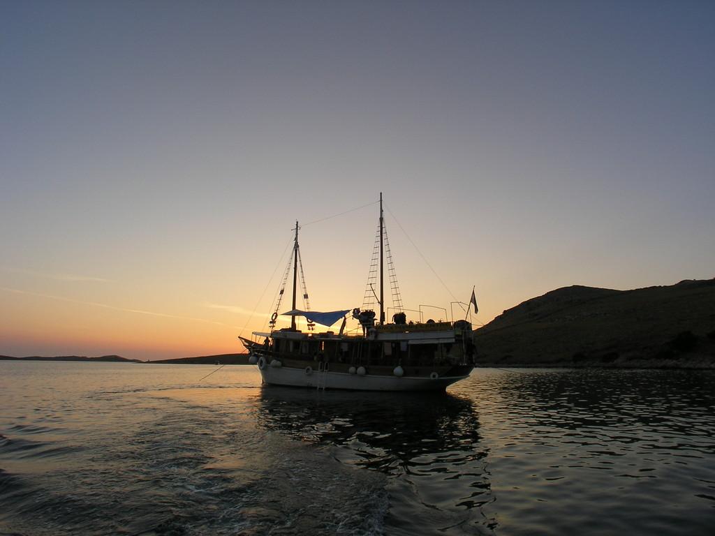 Bay in Kornati