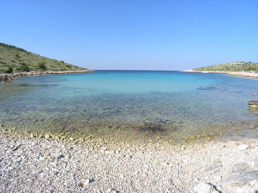 Beach on Levrnaka - Kornati