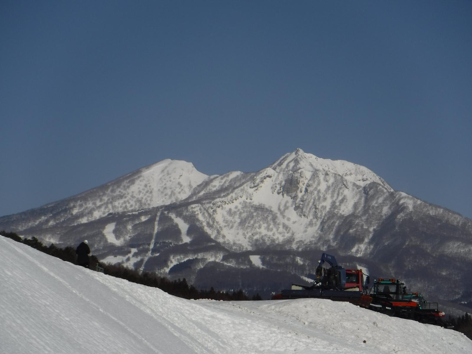 黒姫スキー場上部より、妙高、三田原山、赤倉山