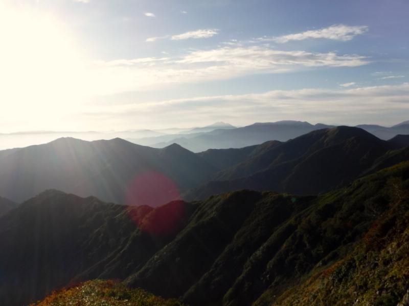 燧ケ岳方面