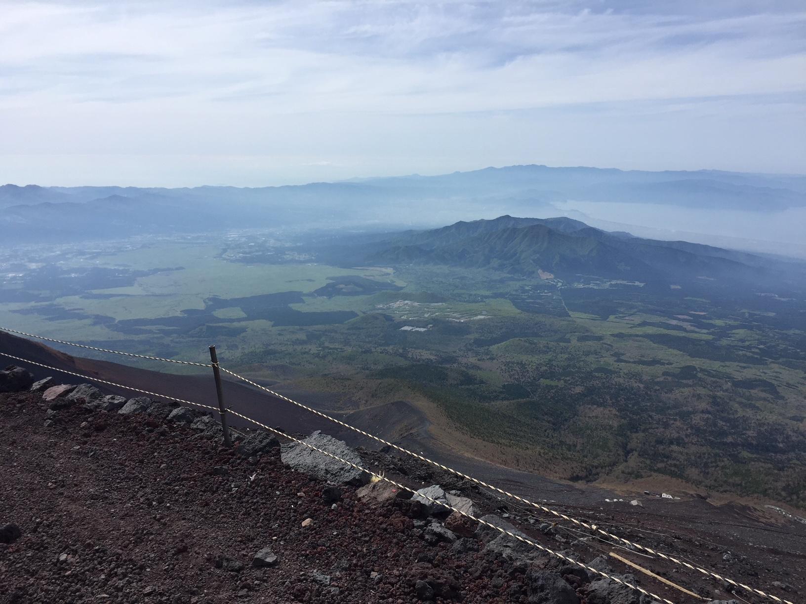 8:10 2800m付近より、愛鷹山