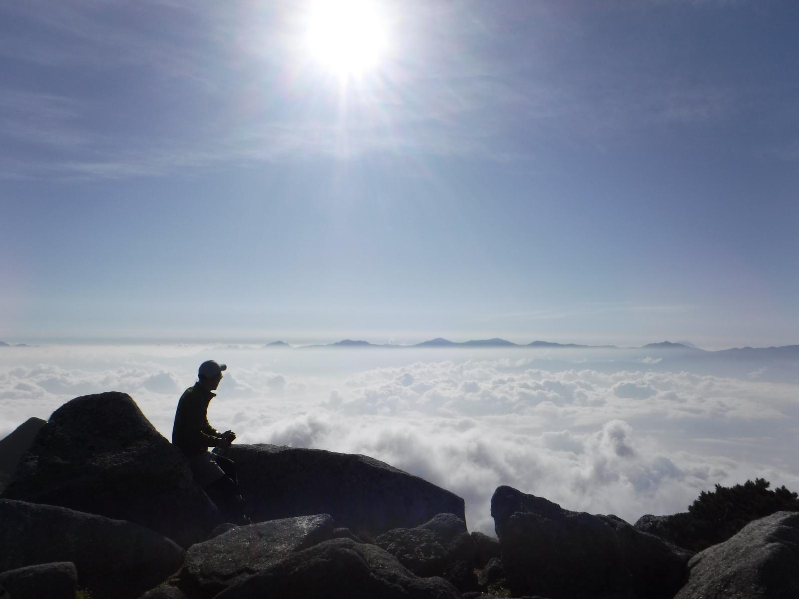 南駒ケ岳山頂