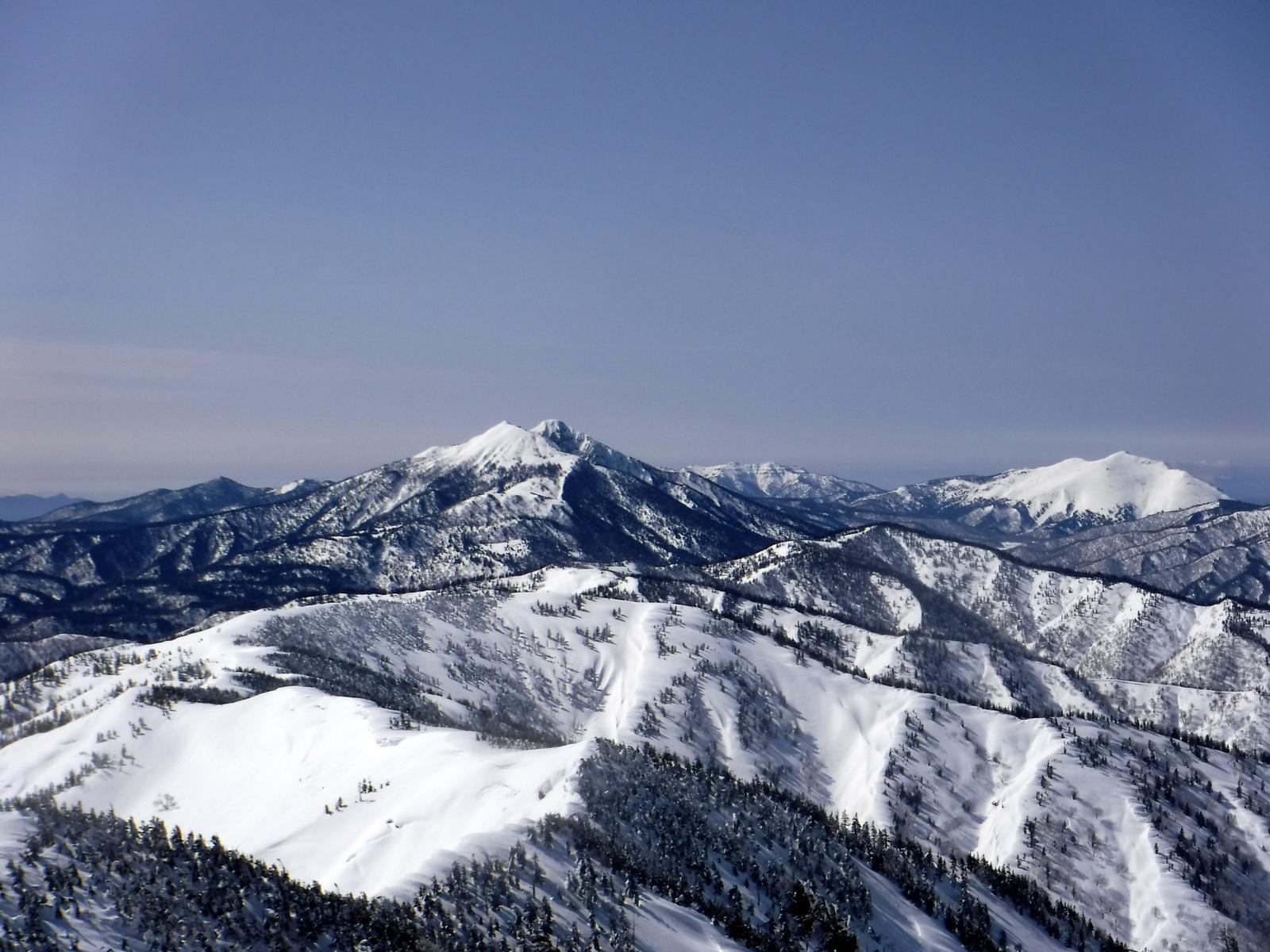 燧ケ岳、至仏山