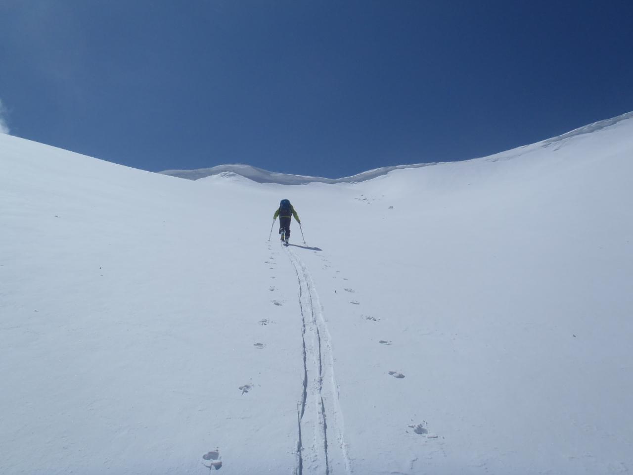 1300_山頂への登高