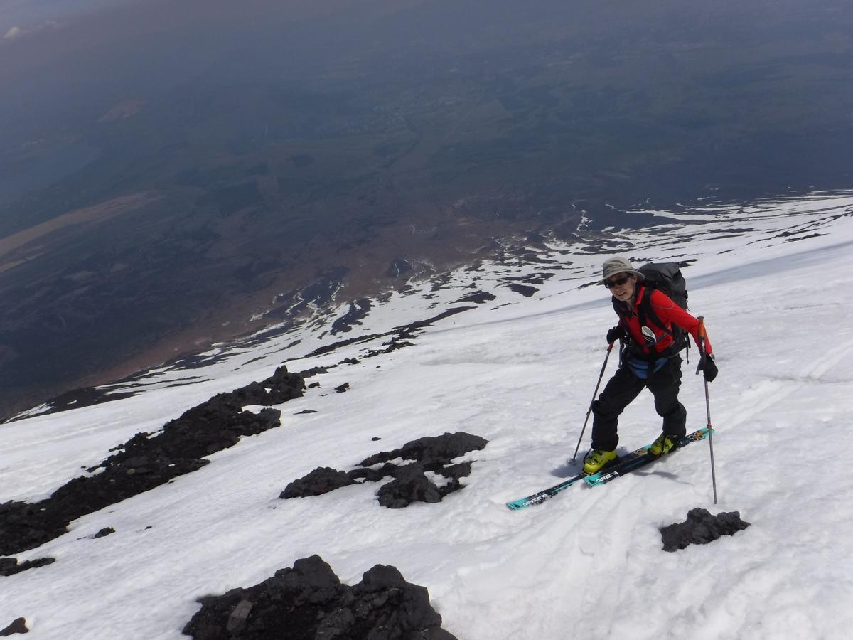 11:40 3220m付近まで登る