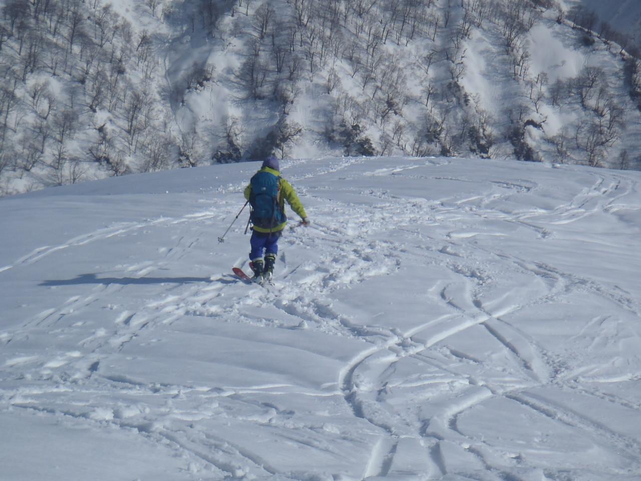 1515_道行山を滑走