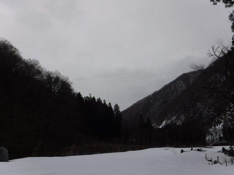 青空の見えた山頂から、2時間半で小雨が降り始めた