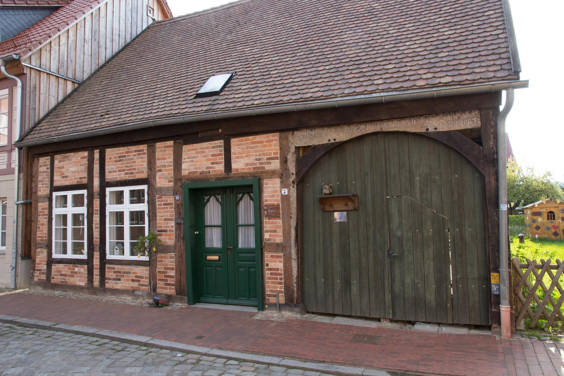Färber 34, das wahrscheinlich älteste Haus Gadebuschs