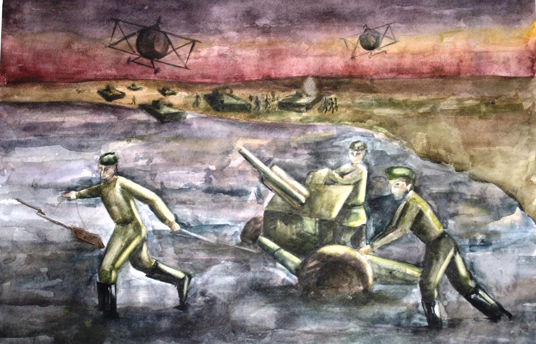 "Автор - Мельничук Лиза ,15 лет, ""Атака"", выпуск 2011 года,пр. Авдеева А.А."