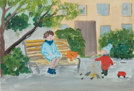Антонов Дмитрий, 7 лет, МБДОУ Детский сад №183, пр. Воеводина Е.В.