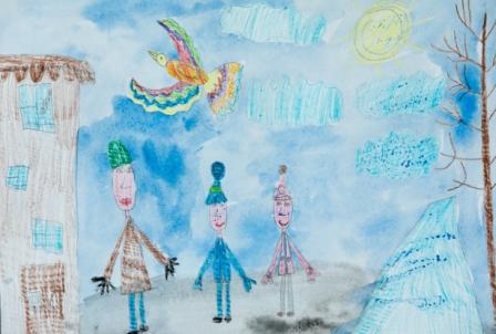 """Нуштаева Алеся, 6 лет,  МБДОУ Детский сад №171 """"Зелёный огонёк"""", пр. Кулебякина А.Ю."""